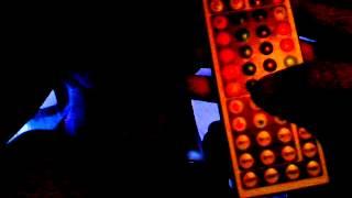 RGB подсветка ног в салоне Hyundai Accent