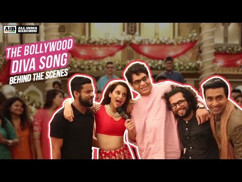 AIB : Making of the Bollywood Diva Song