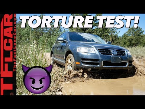 We're SHOCKED And Surprised By How Our Cheap VW Touareg Performed Off-Road!