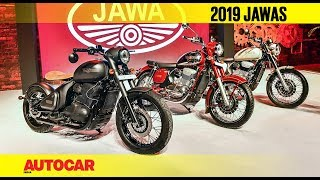 2019 Jawa Motorcycles | Walkaround and First Look | Autocar India