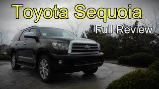 2016 Toyota Sequoia: Full Review | SR5, Limited and Platinum