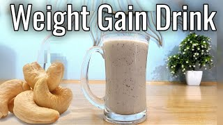 How to Gain Weight, Gain Weight Fast in 1 Week Naturally with Homemade Drink Urdu Hindi