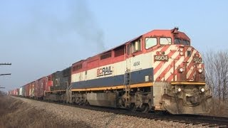 BCOL 4604 East (With Echoing Horn Show) on 2-16-2012