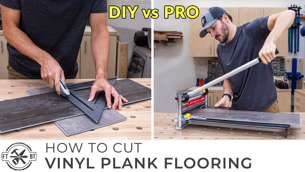 How to Cut Vinyl Plank Flooring | Beginners Guide