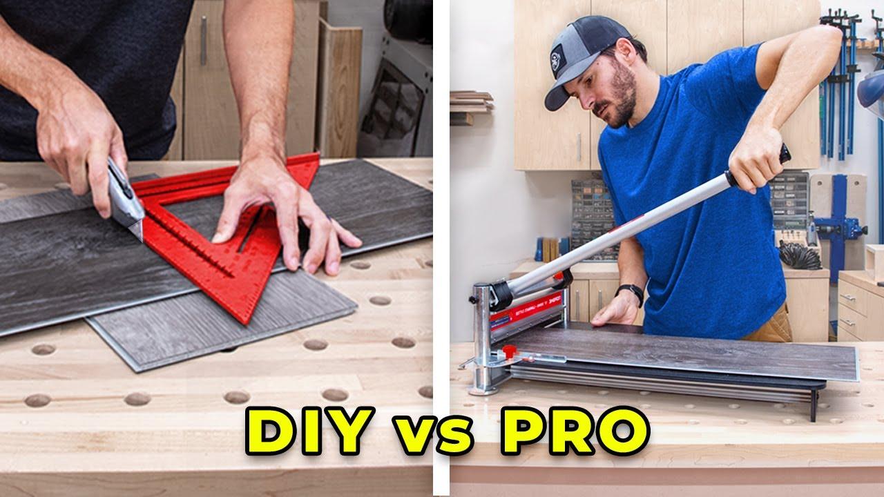 6 ways to cut vinyl plank flooring beginners guide