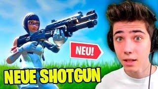 Die NEUE SHOTGUN ist die BESTE in Fortnite?!
