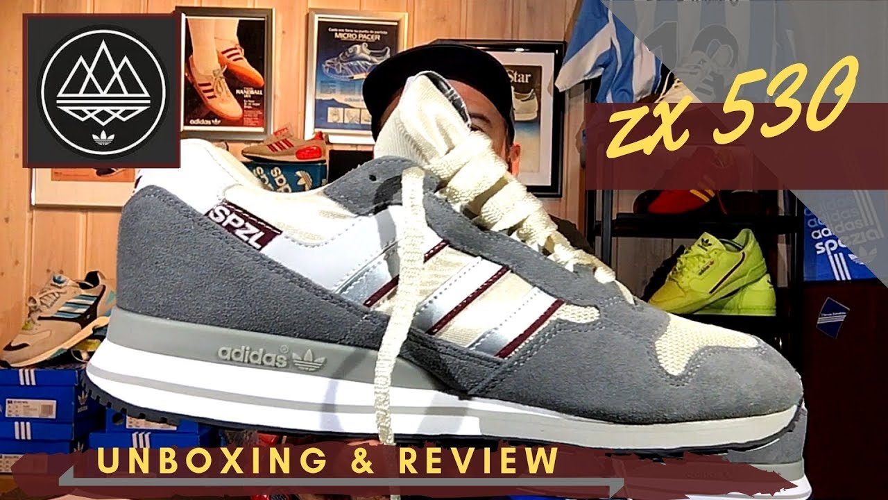 crazy price many styles great look /// adidas /// ZX 530 SPZL /// unboxing & on feet /// Colección SPEZIAL SS  19