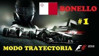 F1 2013 Ps3 español   Primeras Impresiones   Modo Trayectoria (carrera) Parte 1 Inicio