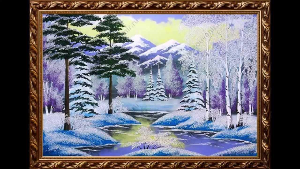 Картины из мраморной крошки фото 694-154