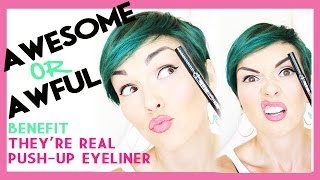 Awesome or Awful: They're Real Push Up Liner Thumbnail