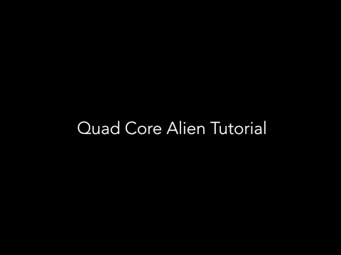 Quad Core Alien With M.Terk