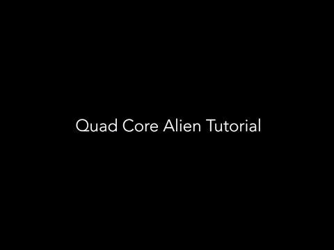 Quad Core Alien With M.Terk
