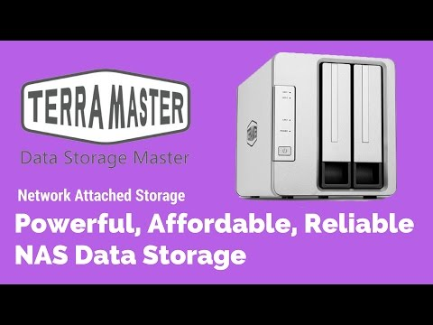 Powerful, Affordable, Reliable NAS Data Storage