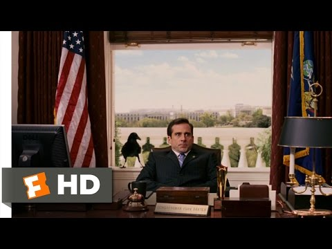 Evan Almighty 410 Movie   An Office Full of Birds 2007 HD