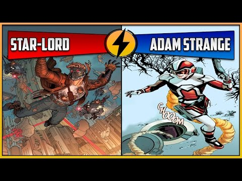 Star-Lord VS Adam Strange (CBVS #58)