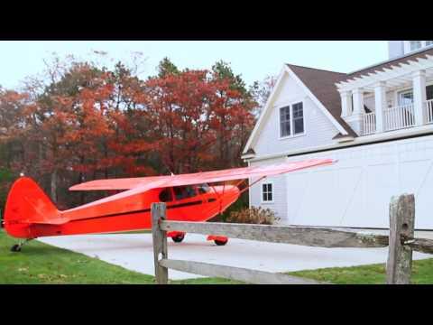 John Garabedian's Airplane & Radio Home In Falmouth, MA
