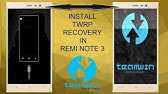 How To Install TWRP Recovery & Root the Redmi Note 3 Pro - YouTube