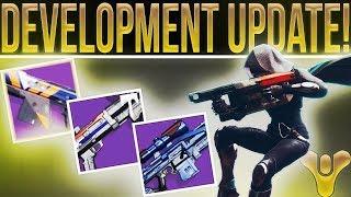 Destiny 2 Development Update Clarification. Destiny 1 Weapon System Coming Back In 2018??