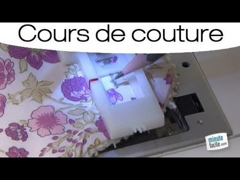 couture poser une boutonni re youtube. Black Bedroom Furniture Sets. Home Design Ideas