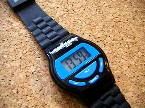 how to set a smiggle watch