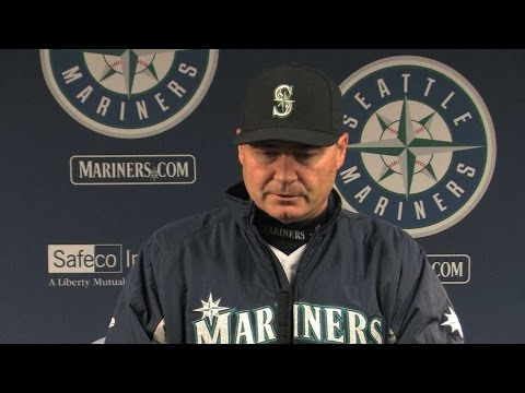 TEX@SEA: Servais discusses Miley after 8-0 loss