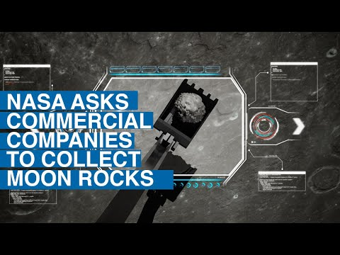 NASA Asks Commercial Companies to Collect Moon Rocks