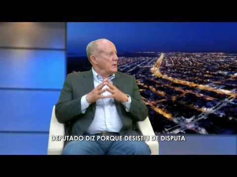 Deputado diz porque abandonou disputa - Luiz Durão