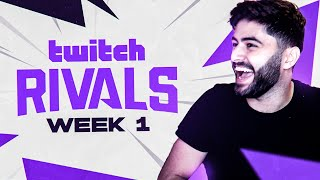 Yassuo | TWITCH RIVALS GROUP A WEEK 1 (Team Yassuo vs Team gamergirl)