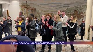Yvelines | Ces maires des Yvelines réélus dès le 1er Tour