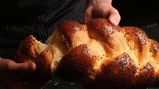 Хлеб хала, приготовленный с миксером B810: рецепт Алёны Спириной