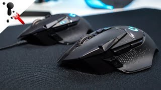 Logitech Wireless G502 LIGHTSPEED Comparison Review