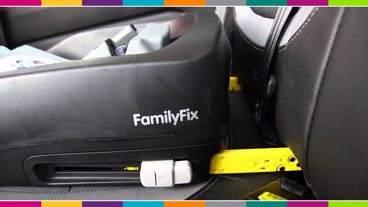 maxi cosi family fix base car seat fitting video. Black Bedroom Furniture Sets. Home Design Ideas