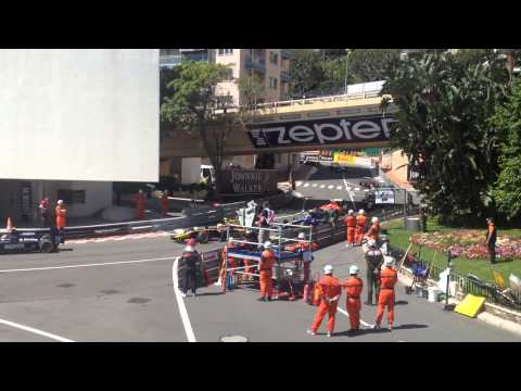 Monaco Grand Prix 2015 view from Tribune C