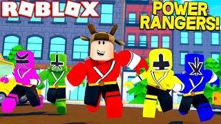 ROBLOX POWER RANGER SIMULATOR! (BECOME ULTIMATE POWER RANGER)