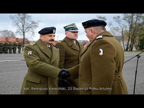 Nowy dowódca artylerzystów