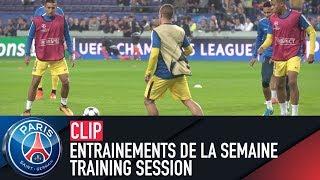 Training session - entrainements de la semaine with verratti, marquinhos & dani alves