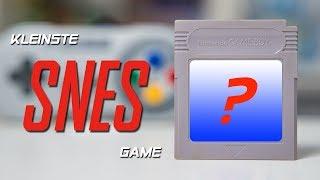 Das kleinste SNES Gąme aller Zeiten… kam auf einem GAME BOY Modul???