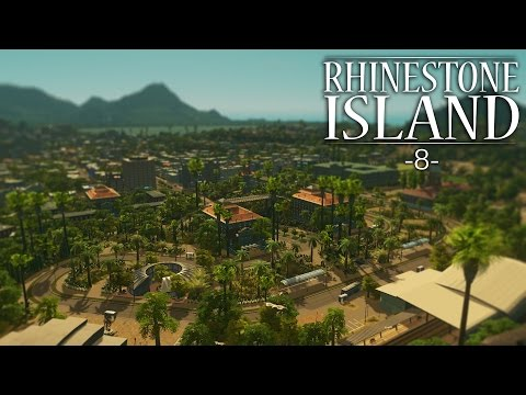 "Cities Skylines - Rhinestone Island [PART 8] ""Suburbs & Mountain Homes"""