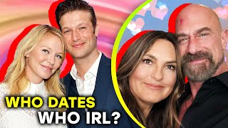 Law And Order SVU: The Real Love Affairs Of The Cast Revealed | ⭐OSSA