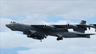 FSX Captain sim B-52 ( HD )