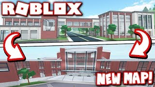 ROBLOXIAN HIGHSCHOOL HAS CHANGED COMPLETELY?! *MEGA UPDATE with NEW MAP & SCHOOL!* (Roblox)