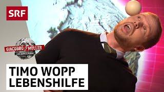 Timo Wopps Lebenshilfe zu komplexen Herausforderungen - Giacobbo / Müller