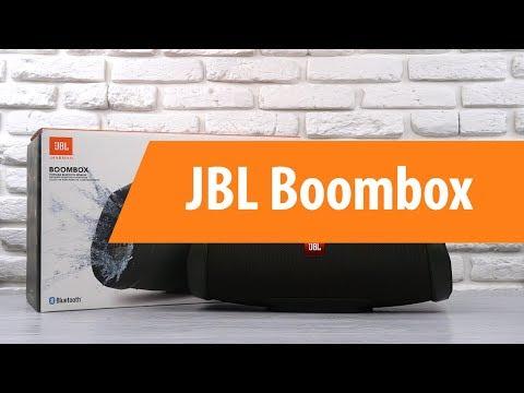 Распаковка портативной колонки JBL Boombox / Unboxing JBL Boombox
