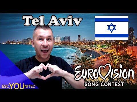 Tel Aviv is the host city of Eurovision 2019