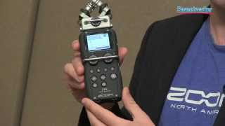 Zoom H5 Handy Recorder Demo - Sweetwater Sound