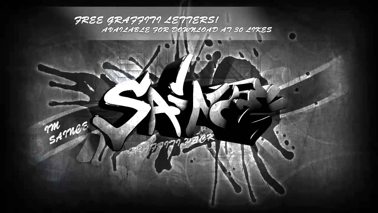 Graffiti alphabet free download by imsaince youtube