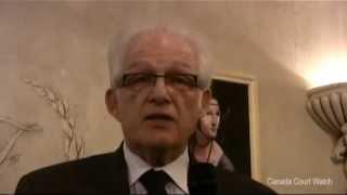 Lawyer Walter Fox Speaks About Canada