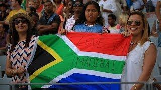 94 5 Kfm - Cape Town celebrates Madiba