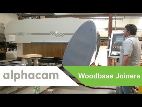 Woodbase Joiners specialise in bespoke production with Alphacam