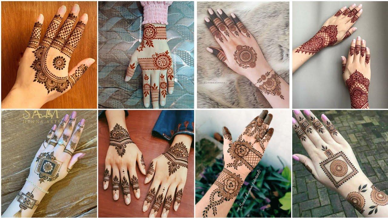 Download Top Trendy & Stylish Henna Designs || Easy Arabic & Beginner Mehndi Design.